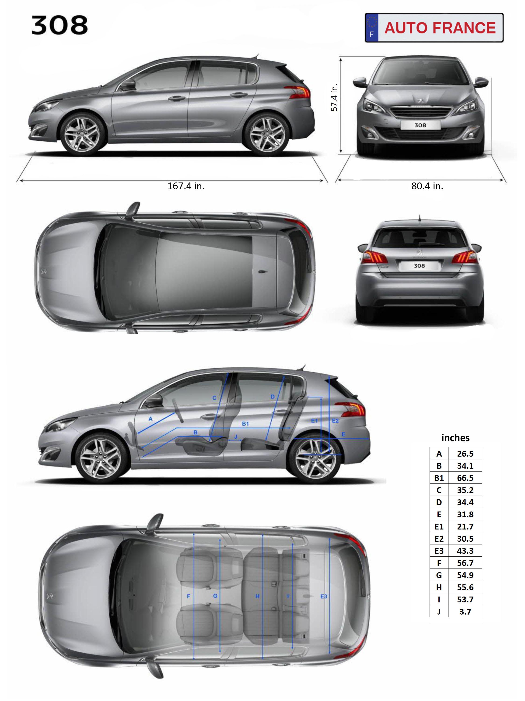 peugeot 308 - long term car rental in europe