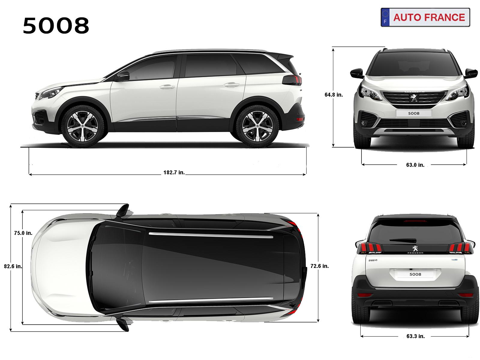 Peugeot 5008 - Long Term Car Rental In Europe